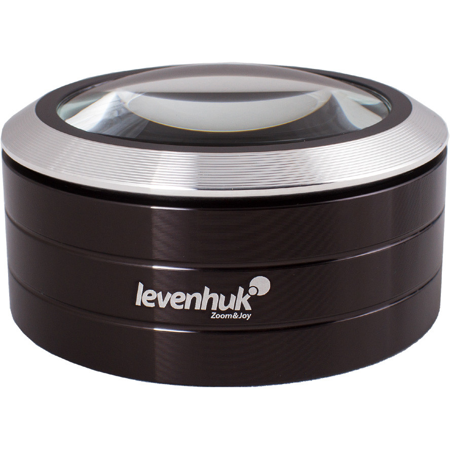 Levenhuk Zeno 900 LED Magnifier, 5x, 75 mm, Metal
