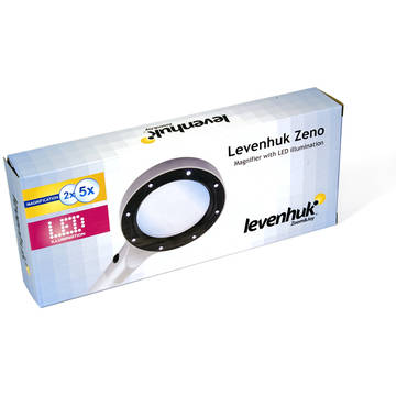Levenhuk  Zeno 500 LED Magnifier, 3.5x, 56 mm, Metal
