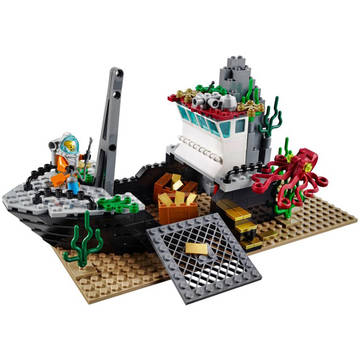 LEGO Nava de explorare in largul marii (60095)