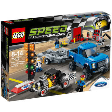LEGO Ford F-150 Raptor & Ford Model A Hot Rod (75875)