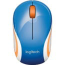 Mouse Logitech® Wireless 910-002733, M187,  2.4GHZ, EMEA, albastru