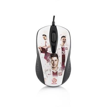 Mouse MODECOM M-MC-00M4-ART-PZPN1, optic, wireless, MC-M4 PZPN, 800 dpi, multicolor