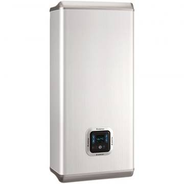 Boiler ARISTON electric VELIS PLUS 100  EU, Izolatie termica, Doua rezervoare, Alb
