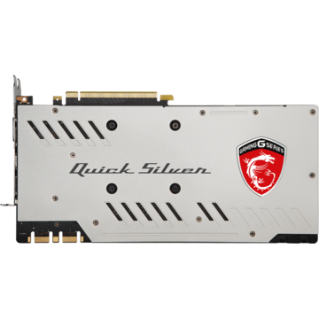 Placa video MSI PCI-E GTX 1070 QUICK SILVER 8G