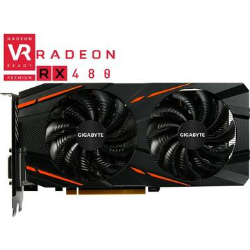 Placa video Gigabyte Radeon RX 480 Windforce 4GB DDR5 256-bit
