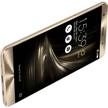 Smartphone Asus Smartphone  Zenfone 3 Deluxe, Quad Core, 256GB, 6GB RAM, Dual SIM, 4G, Gold  ZS570KL-2G020WW