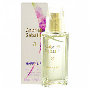 Gabriela Sabatini Happy Life Eau de Toilette 60ml