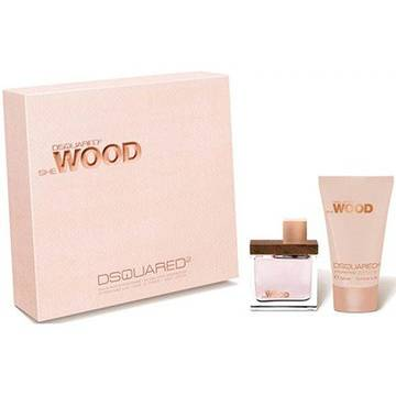 Dsquared2 She Wood Eau de Parfum 50ml + Body Lotion 100ml
