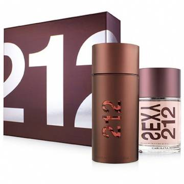 Carolina Herrera 212 Sexy Men Eau De Toilette 100ml + After Shave 100ml