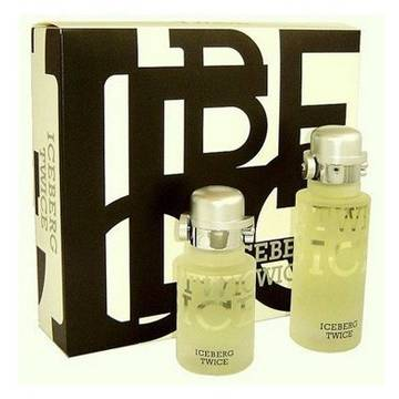 Iceberg Twice Eau De Toilette 100ml + 75ml After shave