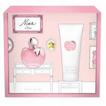Nina Ricci Nina L'Eau Eau de Toilette 50ml + Body Lotion 100ml