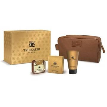 Trussardi My Land Eau De Toilette 50ml + Shower Gel 100ml + Geanta Cosmetice