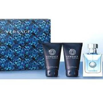 Versace Pour Homme Medusa Eau De Toilette 50ml + 50ml Shower Gel + 50ml After Shave Balsam