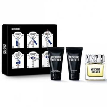 Moschino Forever Eau de Toilette 50ml + After Shave Balsam 50ml + Shower Gel 100ml