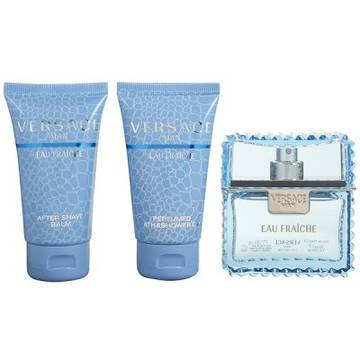 Versace Eau Fraiche Eau de Toilette 50ml + 50ml Shower Gel + 50ml After Shave Balsam