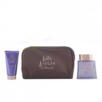 Lolita Lempicka Au Masculin Eau de Toilette 100ml + Shower Gel 75ml + Borseta