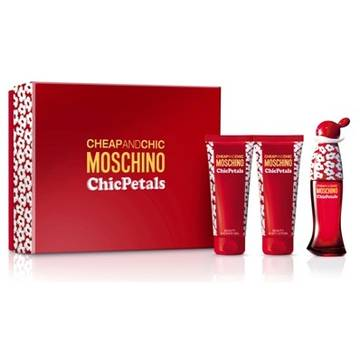 Moschino Chic Petals Eau de Toilette 50ml + 100ml Shower Gel + 100ml Body Lotion