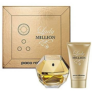Paco Rabanne Lady Million Eau de Parfum 80ml + Body Lotion 100ml