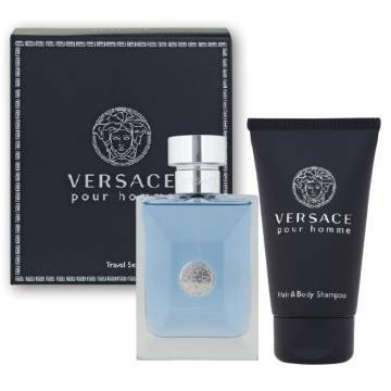 Versace Pour Homme Medusa Eau de Toilette 100ml + Shower Gel 100ml Travel Set