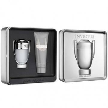 Paco Rabanne Invictus Eau de Toilette 100ml + Shower Gel 100ml