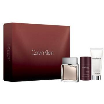 Calvin Klein Euphoria Eau de Toilette 100ml + After Shave Balsam 100ml + Stick 75ml