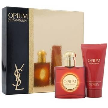 Yves Saint Laurent Opium Eau de Toilette 50ml + Body Moisturizer 50ml