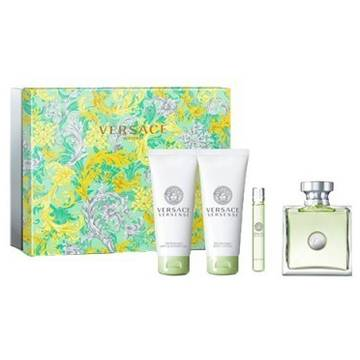 Versace Versense Eau de Toilette 100ml + 100ml Shower Gel + 100ml Shimmering Body Lotion + 10ml Eau de Toilette Rollerball
