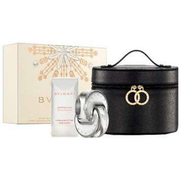 Bvlgari Omnia Crystalline Eau de Toilette 65ml + Body Lotion 75ml + Beauty Pouch