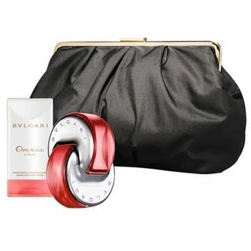 Bvlgari Omnia Coral Eau de Toilette 65ml + Body Lotion 75ml + Beauty Pouch