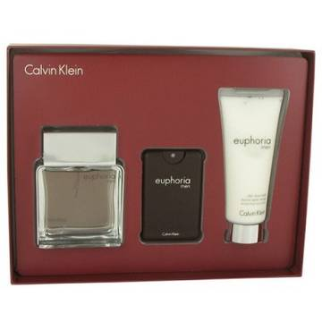 Calvin Klein Euphoria Eau de Toilette 100ml + Eau de Toilette 20ml + After Shave Balsam 100ml