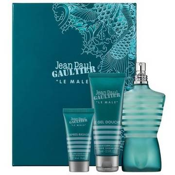 Jean Paul Gaultier Le Male Eau de Toilette 125ml + Shower Gel 75ml + After Shave Balsam 50ml