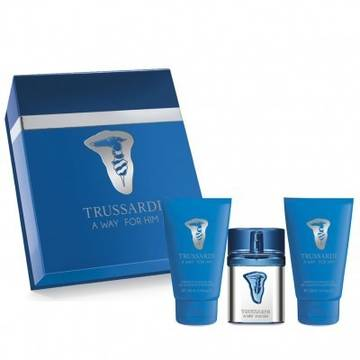 Trussardi A Way For Him Eau de Toilette Eau de Toilette 30ml + Shower Gel 30ml + After Shave Balsam 30ml
