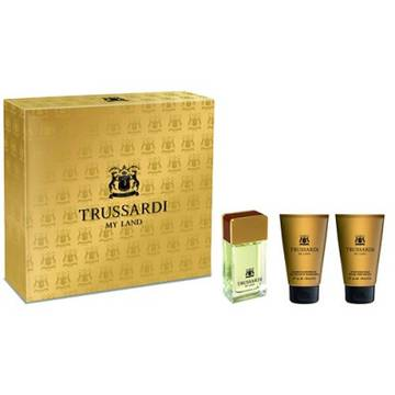 Trussardi My Land Eau de Toilette 30ml + Shower Gel 30ml + After Shave Balsam 30ml
