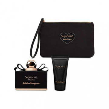 Salvatore Ferragamo Signorina Misteriosa Eau de Parfum 100ml + Body Lotion 50ml + Pouch