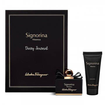 Salvatore Ferragamo Signorina Misteriosa Eau de Parfum 50ml + Body Lotion 100ml
