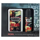 STR8 Rebel Eau de Toilette 100ml + Deodorant Spray 150ml