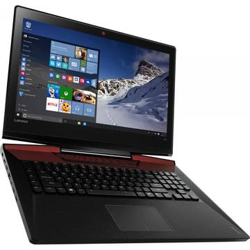 Notebook Lenovo IdeaPad Y900, 17.3 inch, intel Core i7-6820HK, 32 GB DDR4, 512 GB SSD, video dedicat, Windows 10 Pro