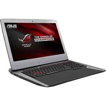 Notebook Asus ROG G752VM, 17.3inch, intel Core i7-6700HQ, 16 GB DDR4, 1 TB + 128 GB HDD + SSD, video dedicat, Windows 10