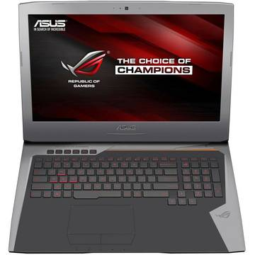 Notebook Asus ROG G752VM, 17.3inch, intel Core i7-6700HQ, 16 GB DDR4, 1 TB HDD, video dedicat, Windows 10