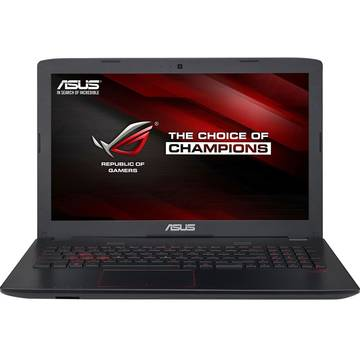 Notebook Asus ROG GL553VW, 15.6inch, intel Core i7-6700HQ, 8 GB DDR4, 1TB HDD, video dedicat, Free DOS