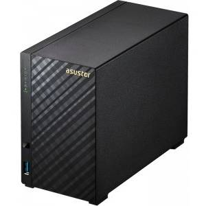 NAS Asus AS-3202T 0/2HDD, SATA-III, 3.5 inch, USB 3.0, HDMI, negru