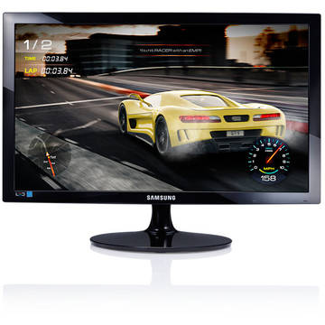 Monitor LED Samsung S24D330HS Gaming, 16:9, FullHD, 61 cm, 1 ms, negru, public