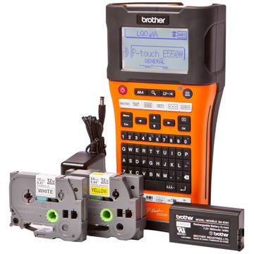 Imprimanta etichete Brother P-Touch E550WVP, industriala