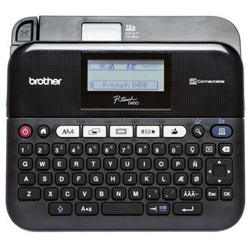 Imprimanta etichete Brother P-Touch D450VP, conectare PC, profesionala