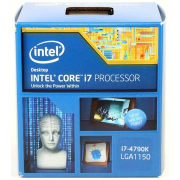 Procesor Intel Core i7-4790K, 4 GHz, Socket LGA1150, 88 W