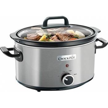 Slow cooker Brushed CSC025X-DIM, 210 W, 3.5 l, inox