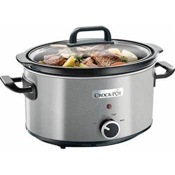 Crock-Pot Slow cooker Brushed  CSC025X-DIM, 210 W, 3.5 l, inox