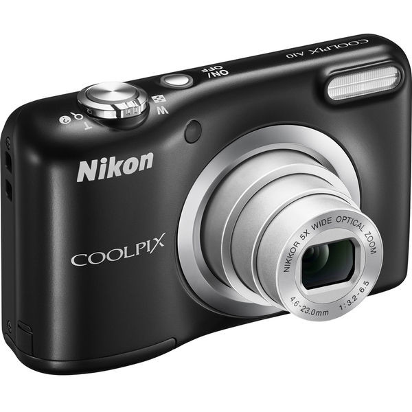 Aparat foto digital Coolpix A10, 2.7 inch, 16.1 MP, zoom 5x, negru