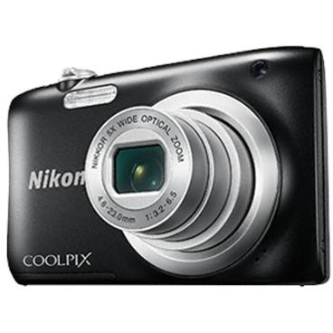 Aparat foto digital Coolpix A100, 2.7 inch, 20.1 MP, zoom 5x, negru