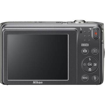 Aparat foto digital Nikon Coolpix A300, 2.7 inch, 20.1 MP, zoom 8x, negru